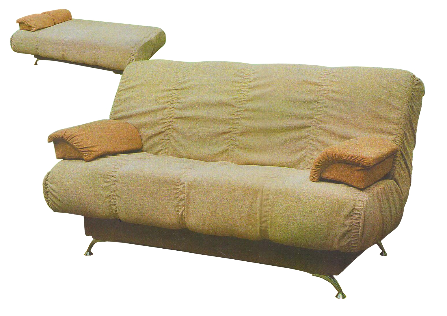 Мягкий диван кровать в  Москве