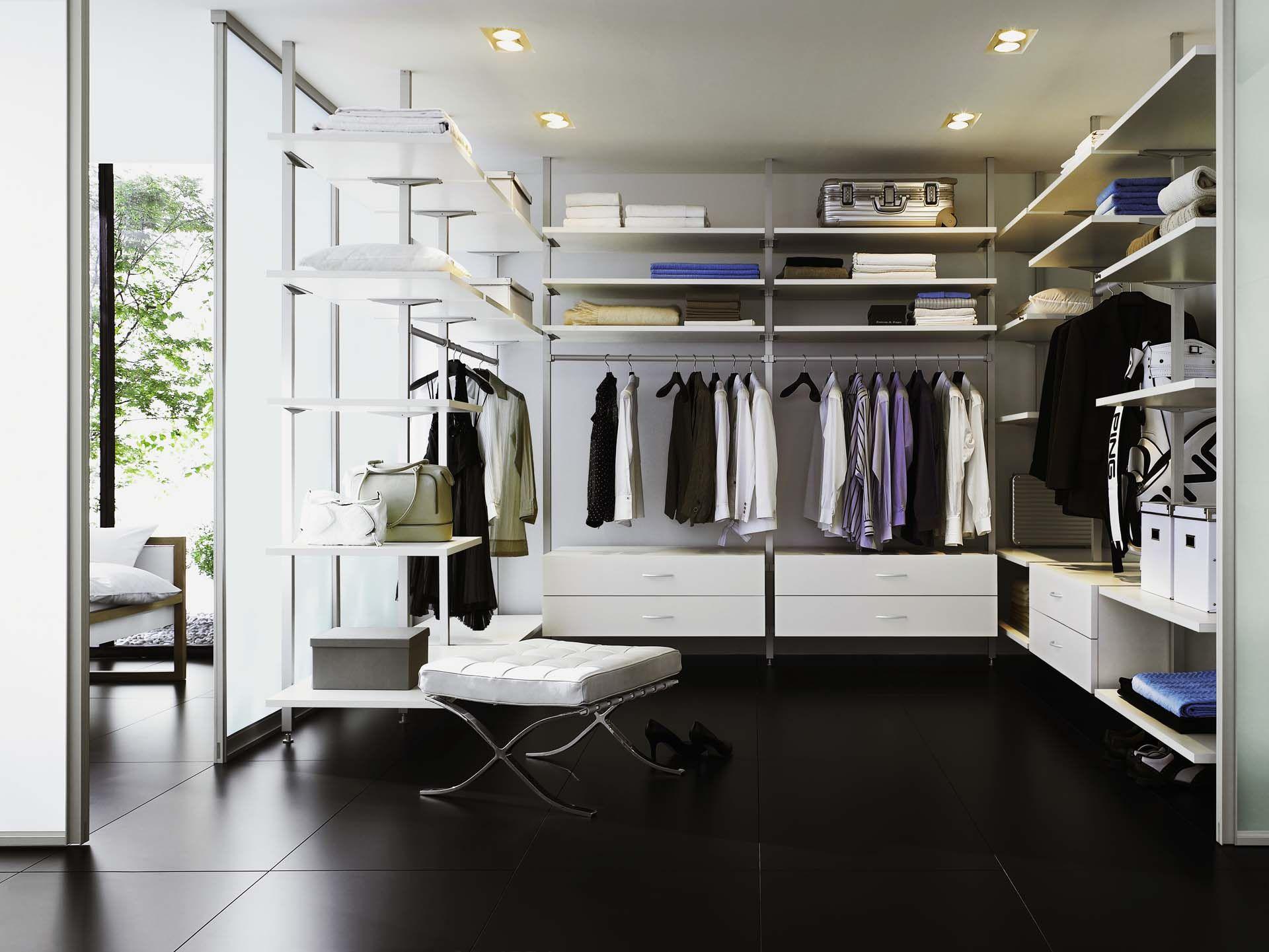 Идеи дизайна для гардеробной.